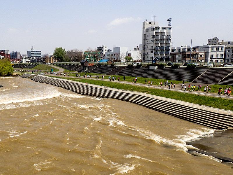 5月5日の豊平川