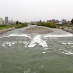 5月8日の豊平川