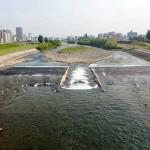 6月15日の豊平川