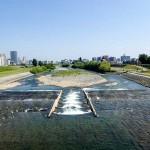 6月17日の豊平川
