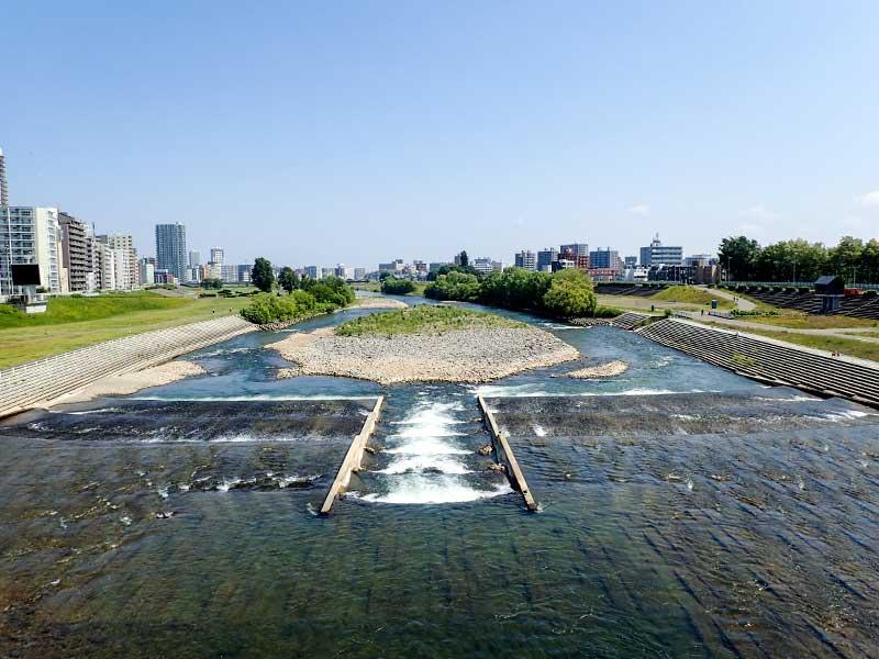 2015年6月17日の豊平川