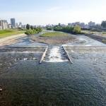 6月19日の豊平川