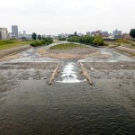 6月22日の豊平川