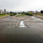 6月25日の豊平川