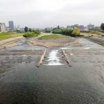 6月26日の豊平川