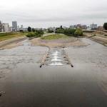 7月18日の豊平川