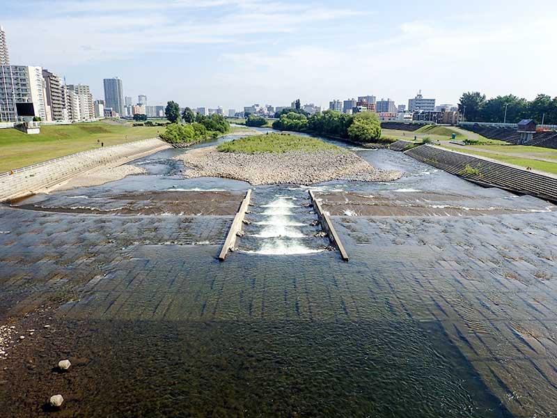 2015年7月27日の豊平川