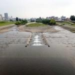 7月31日の豊平川