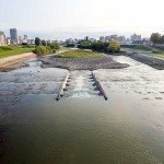 8月14日の豊平川