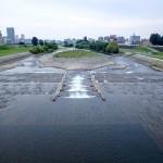8月22日の豊平川