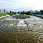 9月3日の豊平川