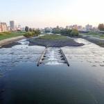 9月22日の豊平川