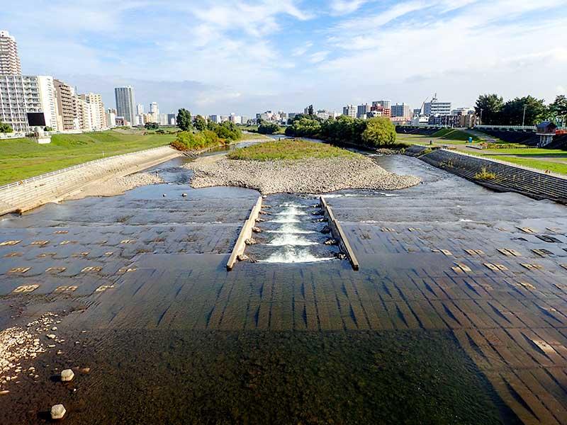 2015年9月25日の豊平川