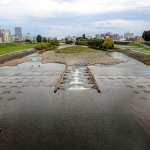 9月28日の豊平川