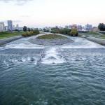 10月10日の豊平川