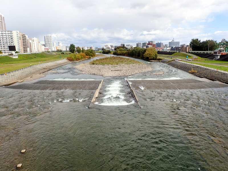 2015年10月14日の豊平川