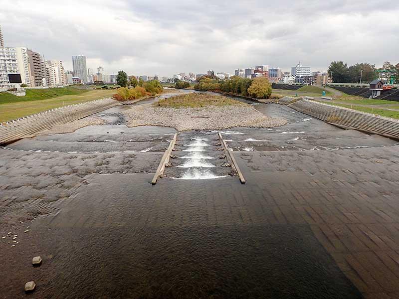 2015年10月21日の豊平川