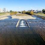 10月22日の豊平川