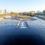 10月23日の豊平川