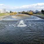 10月28日の豊平川