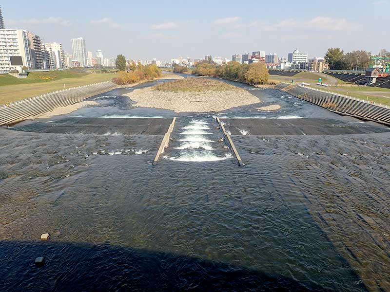 2015年11月1日の豊平川