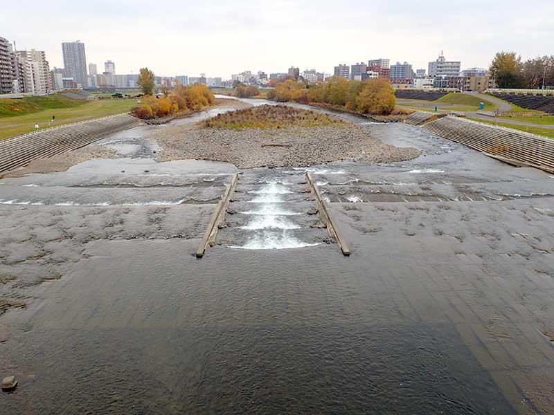 2015年11月6日の豊平川