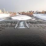 12月1日の豊平川