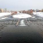 12月2日の豊平川