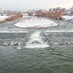 12月4日の豊平川