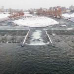 12月5日の豊平川