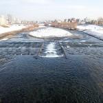 12月10日の豊平川