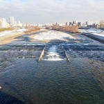 12月12日の豊平川