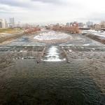 12月15日の豊平川