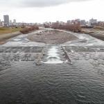 12月16日の豊平川