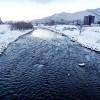 12月19日の豊平川
