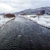 12月24日の豊平川