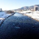 12月23日の豊平川