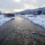12月29日の豊平川