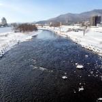 12月30日の豊平川