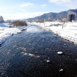 12月31日の豊平川