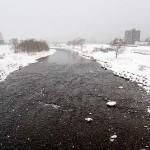 1月1日の豊平川