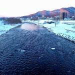 1月11日の豊平川