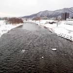 1月13日の豊平川