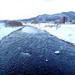 1月23日の豊平川