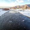 1月29日の豊平川
