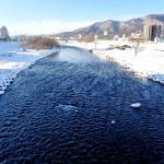 2月1日の豊平川
