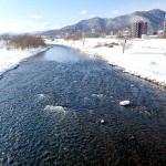 2月11日の豊平川