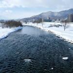 2月27日の豊平川