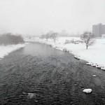 2月29日の豊平川