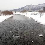 3月3日の豊平川